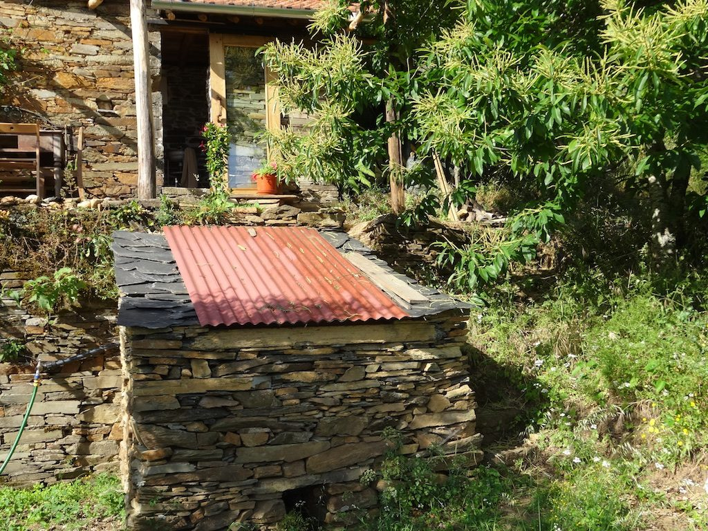 Wendy Howard's vermicomposting toilet system in Central Portugal